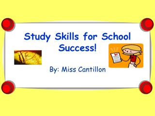 Study Skills for School Success