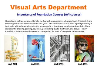 Visual Arts Department