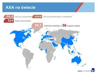AXA na świecie