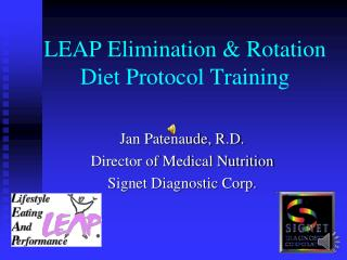 LEAP Elimination & Rotation Diet Protocol Training