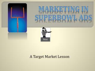 A Target Market Lesson