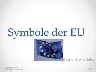 Symbole der EU