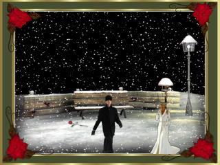 """Man weiss halt:  Weihnachten ist nicht mehr weit. Von irgendwo hört man:  """"Oh, friedvolle Zeit!"""""""