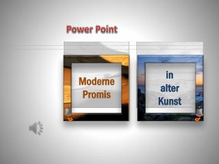 Moderne Promis