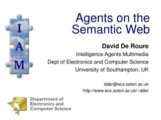 Agents on the Semantic Web