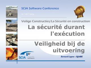 SCIA Software Conference