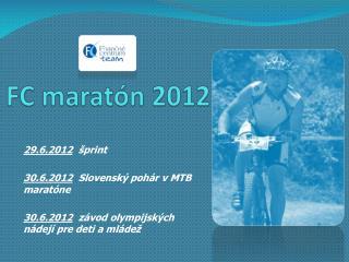 FC maratón 2012