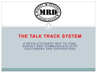 THE Talk Track System