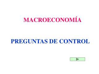 PREGUNTAS DE CONTROL