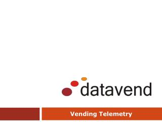 Vending Telemetry