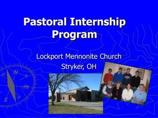 Pastoral Internship Program