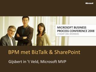 BPM met BizTalk & SharePoint