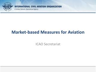 Market-based Measures for Aviation