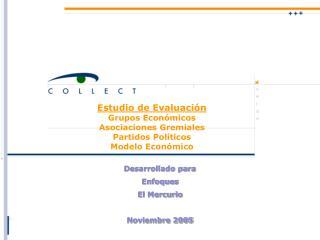 Desarrollado para  Enfoques El Mercurio Noviembre 2005
