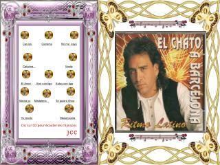 Clic sur CD pour �couter les chansons