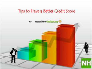 Tips to Have a Better Credit Score