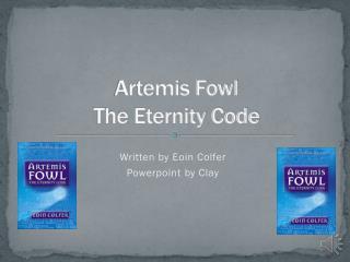 Artemis Fowl  The Eternity Code