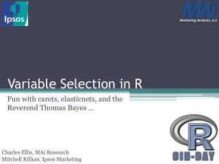 Variable Selection in R