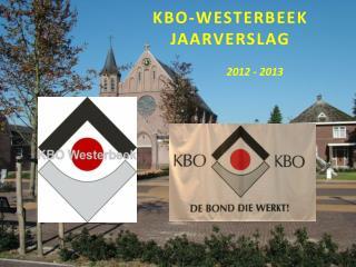 KBO-Westerbeek jaarverslag