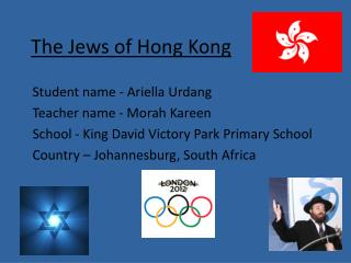 The Jews of Hong Kong