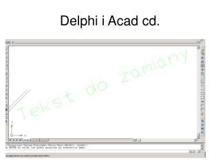 Delphi i Acad cd.