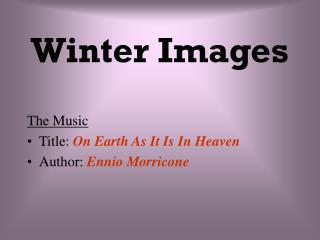 Winter Images