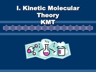 I. Kinetic Molecular Theory KMT