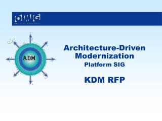 Architecture-Driven Modernization Platform SIG KDM RFP