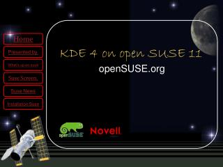 KDE 4 on open SUSE 11