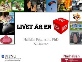 Hálfdán Pétursson, PhD ST-läkare