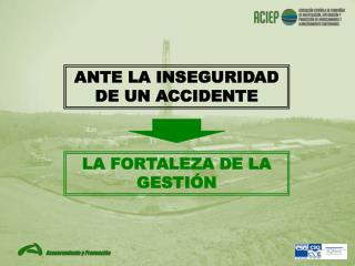ANTE LA INSEGURIDAD DE UN ACCIDENTE