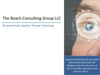 The Beach Consulting Group LLC