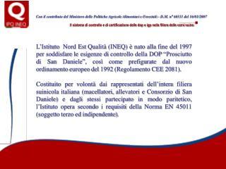 Il sistema di controllo e di certificazione delle dop e igp nella filiera delle carni suine