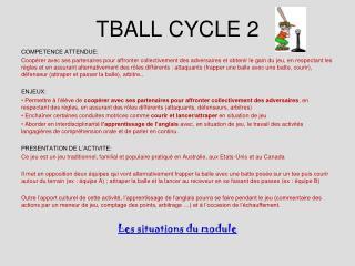 TBALL CYCLE 2
