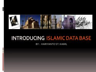 Introducing   islamic data base