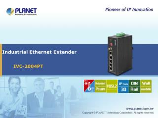 Industrial Ethernet Extender