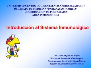 """UNIVERSIDAD CENTRO OCCIDENTAL """"LISANDRO ALVARADO"""" DECANATO DE MEDICINA """"PABLO ACOSTA ORTIZ"""""""