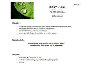 Epuration de l'eau/station de lagunage 1: