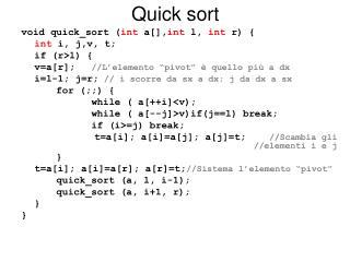 Quick sort