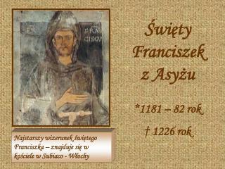 Święty Franciszek z Asyżu