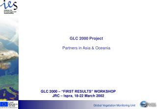 GLC 2000 Project Partners in Asia & Oceania