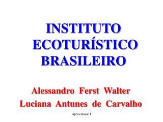 INSTITUTO   ECOTURÍSTICO  BRASILEIRO