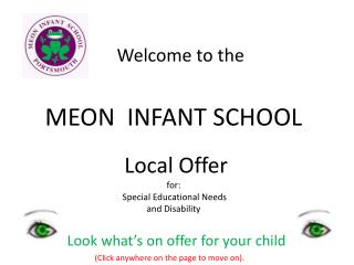 MEON  INFANT SCHOOL