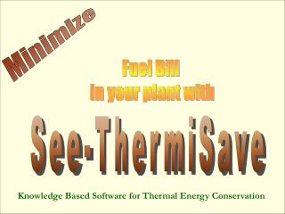 Fuel Bill  in your plant with
