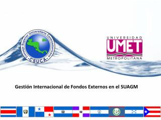Gestión Internacional  de  Fondos Externos  en el SUAGM