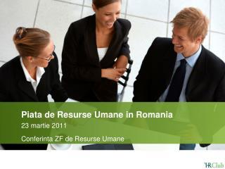 Piata de Resurse Umane in Romania