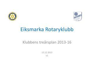 Eiksmarka Rotaryklubb