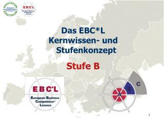 Das EBC*L Kernwissen- und Stufenkonzept Stufe B