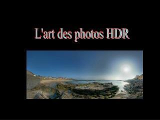 L'art des photos HDR