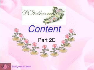 Content Part 2E